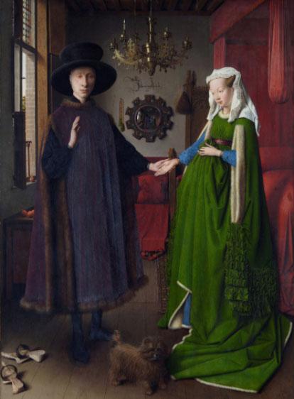 アルノルフィーニ夫妻の肖像